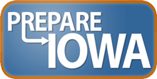 Prepare Iowa logo