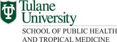 Tulane University School of Public Health and Tropical Medecine logo